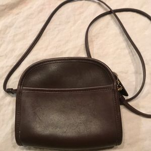 Vintage Coach small Abbie bag. Brown